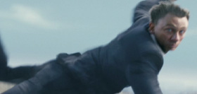 James Bond in free fall.
