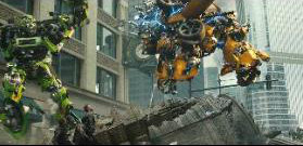Bumblebee destroys last 'Pillar.'
